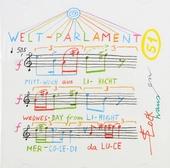 Welt-Parlament vom Mittwoch aus Licht