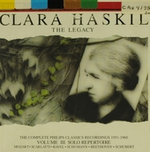The legacy. Volume III, Solo repertoire