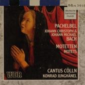 Motetten : Johann Pachelbel, Johann Christoph Bach und Johann Michael Bach