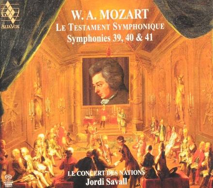Le testament symphonique : symphonies 39, 40 & 41