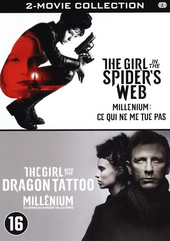 The girl in the spider's web : The girl with the dragon tattoo : 2-movie collection