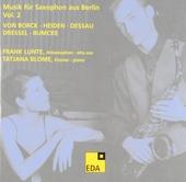 Musik für Saxophon aus Berlin Vol.2. vol.2 1934-1938