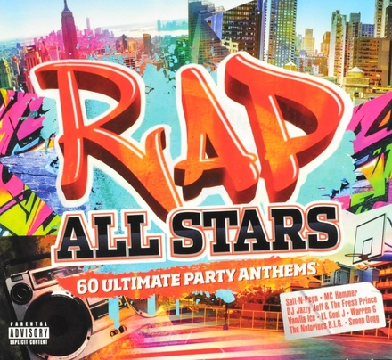 Rap all stars : 60 ultimate party anthems