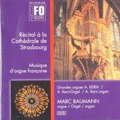 Récital à la Cathédrale de Strasbourg