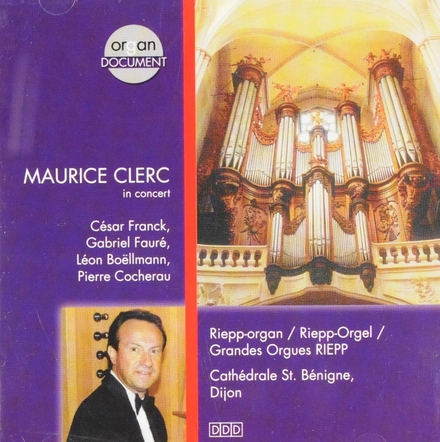 Maurice Clerc in concert