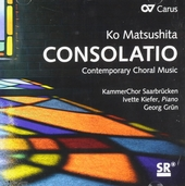 Consolatio : Contemporary choral music