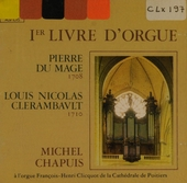1er Livre d'orgue