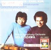 Violin concertos : Earl Kim, Robert Starer
