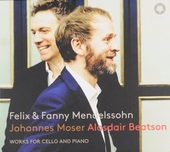 Felix & Fanny Mendelssohn : works for cello and piano