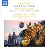 Russian music for solo violin and orchestra