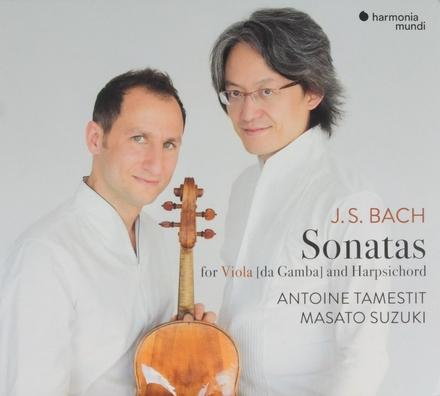 Sonatas for viola da gamba and harpsichord