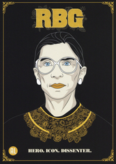 RBG : hero, icon, dissenter