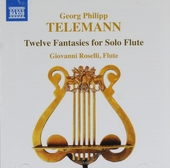Twelve fantasies for solo flute
