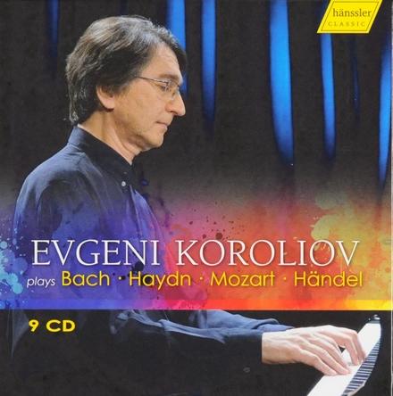 Evgeni Koroliov plays Bach Haydn Mozart Händel