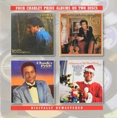 Four Charley Pride albums on two discs
