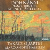 Piano quintets & string quartet No 2