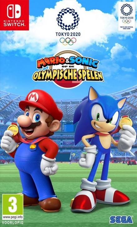 Mario & Sonic op de Olympische Spelen : Tokyo 2020