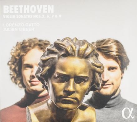 Violin sonatas nos. 3, 6, 7 & 8