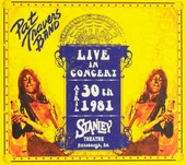 Live in concert april 30th 1981 Stanley Theatre Pittsburg, PA