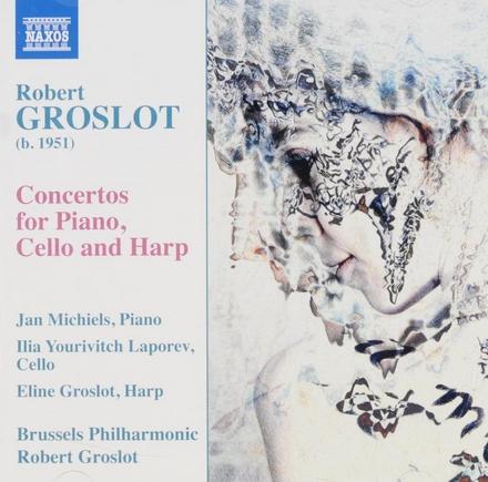 Concertos for piano, cello and harp