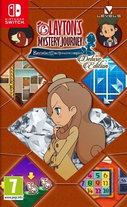 Layton's mystery journey : Katrielle en het miljonairscomplot : deluxe edition