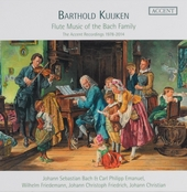 Flute music of the Bach family : The Accent recordings 1978-2014
