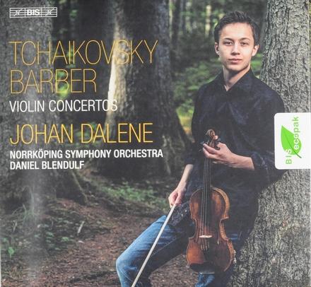 Tchaikovsky & Barber : violin concertos
