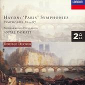 Paris symphonies : Symphonies 82-87