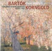 Piano quintets : Bartok, Korngold