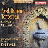 Voices from the East : symphonies nos 3 and 4