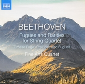 Fugues and rarities for string quartet