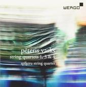 String quartets 1, 3 & 4