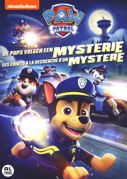 De pups volgen een mysterie
