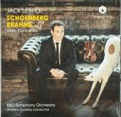 Violin concertos : Schoenberg Brahms