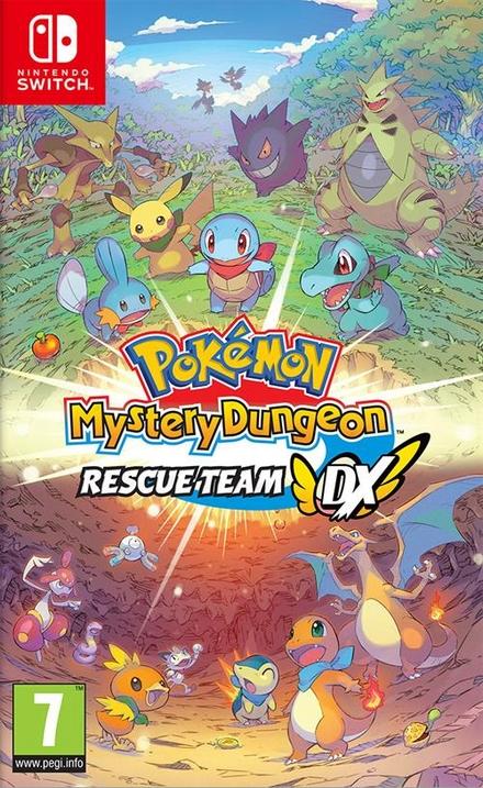 Pokémon Mystery Dungeon : rescue team DX