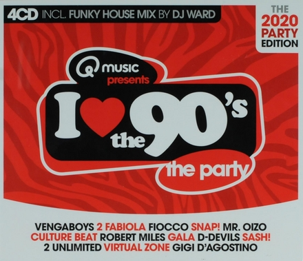 I love the 90's : the 2020 party edition