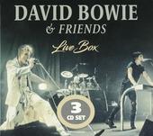 David Bowie & friends : live box