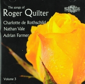 The songs of Roger Quilter. vol.3
