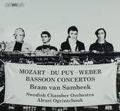 Bassoon concertos : Mozart Du Puy Weber