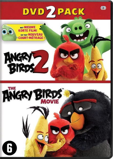 Angry birds 2 ; The angry birds movie : dvd 2 pack