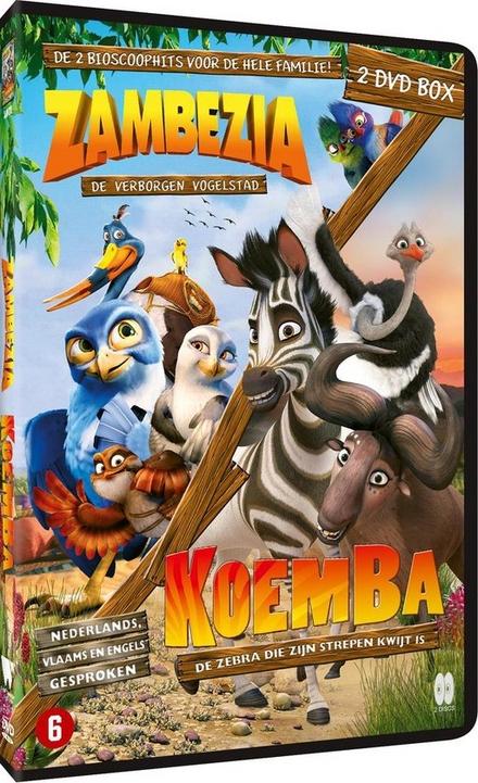 Zambezia : de verborgen vogelstad ; Koemba : de zebra die zijn strepen kwijt is : 2 dvd box