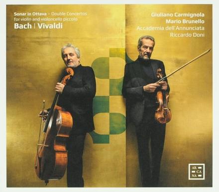 Sonar in ottava : Double concertos for violin and violoncello piccolo