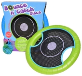Bounce 'n' catch discs