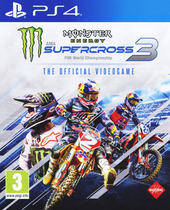 Monster energy supercross 3 : FIM world championship : the official videogame