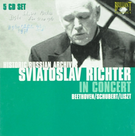 Historic Russian archives : Sviatoslav Richter in concert