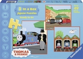 Thomas & friends : 3 in a box jigsaw puzzles