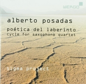 Poética del laberinto : cycle for saxophone quartet