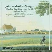 Double bass concertos 2 & 15