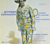 Sonatas for recorder and basso continuo vol.1. vol.1