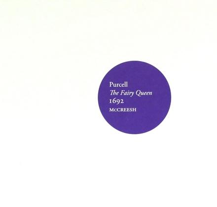 The fairy queen 1692